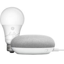 Google Smart Light Starter Kit Chalk with Google Assistant GA00518-US