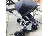 Quinny buzz Xtra rocking black with birth in lay