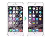iPhone broken screen repair from £39.99- Home collection and delivery