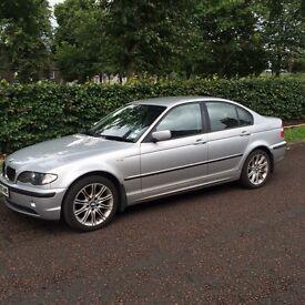 BMW 2004 318se SILVER 4 DOOR