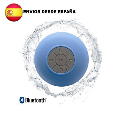 ALTAVOZ IMPERMEABLE PORTATIL INALAMBRICO CON BLUETOOTH MUSICA MOVIL PLAYA