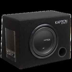 KAPTION AUDIO POWERED SUBWOOFER - BUILT IN AMPLIFIER