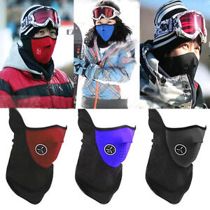 Half Face Neck Mask Veil for skiing, riding a motorcycle/ bike,