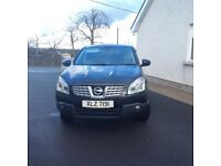 2009 Nissan Qashqai, MOT'd to July 2017, 2 keys.