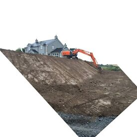 13 ton Digger Hire with Driver £30/hr
