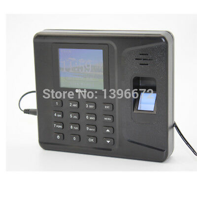2.8 Inch Tft Network Fingerprint Attendance Machine Fingerprint Time Clock