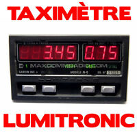★ Taximètre NG Garvin Lumitronic Réparation Installation ★