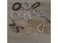 Collection of ladies bracelets