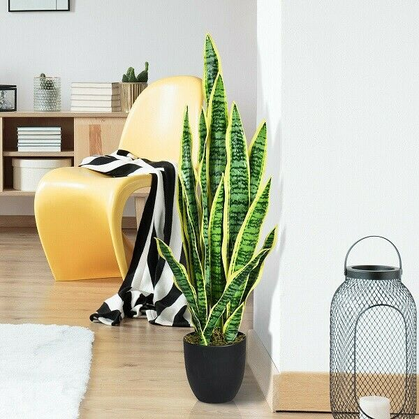 Artificial Plants Potted Floor Plant Silk Ruffle Fern 36 H X 31 W X 31 D Indoor For Sale Online Ebay
