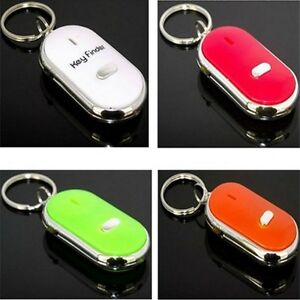 Easy Key Finder Locator Keyring Chain Reminder Keychain Whistle Sound Control