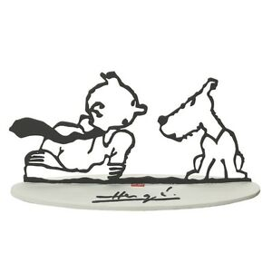 Hommage-Herge-Tintin-Kuifje-original-from-Pixi-Paris-with-Box-and-Certificate