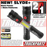 Nebo Slyde+  Plus New! 300 Lumen LED Flashlight/Worklight - Mag Base - Inc Batt