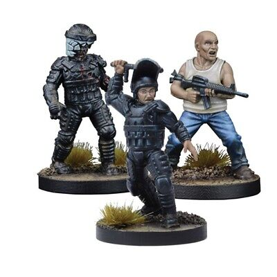 The Walking Dead Glenn, Prison Guard Booster Englisch All Out War Mantic Games