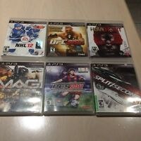 PS3 GAMES ***USED $5.00EACH