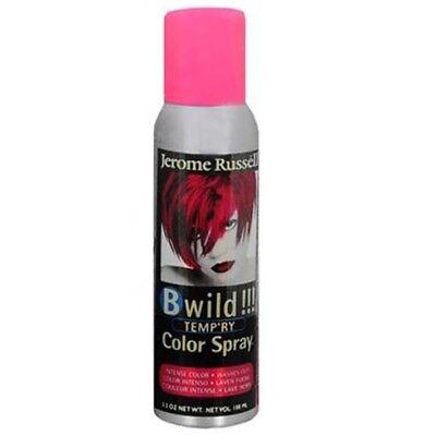 Jerome Russell B Wild Temp'ry Hair Color Spray 2855 Lynx Pink 3.5 oz