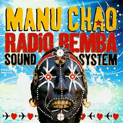 MANU CHAO  Radio Bemba Sound System - 2002 29 Track CD  for sale  Shipping to Nigeria