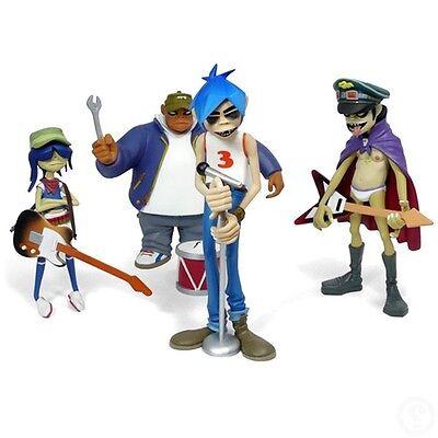 Gorillaz CMYK Full Set of 4 Kidrobot Figures MIB 2D Noodle Russel Murdoc Humanz