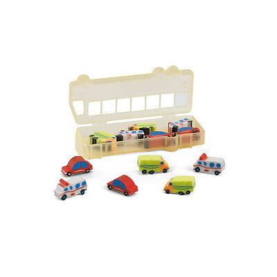 stift Radiergummi Set Schreibwaren Kinder Kinder Neuheit Auto (Gummi-bleistift)