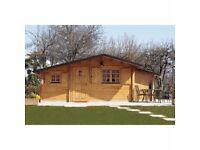 The Deluxe Wareham Log Cabin