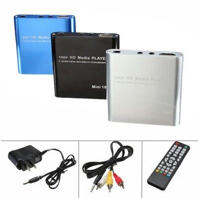 M1080P Full HD USB HDD Multi Media Player MKV H.264 RMVB HDMI AVI AV Port Vidéo - Hd Hdd Media