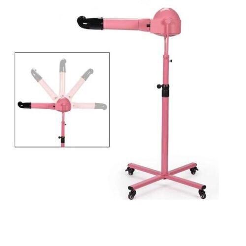 Professional Pet Groomers Pink Super Dry Standing Dryer Quiet Motor 360 Swivel