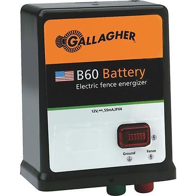 3 Pk Gallager 40 Acre 5 Mile Batterysolar Electric Fence Fencer Charger G351504