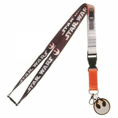 Star Wars Rebel Pilot Costume Lanyard with ID Holder & Charm New](Star Wars Rebel Costume)