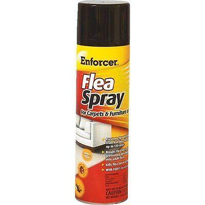 (case Of 6) Enforcer Flea And Tick Killer Carpet Spray