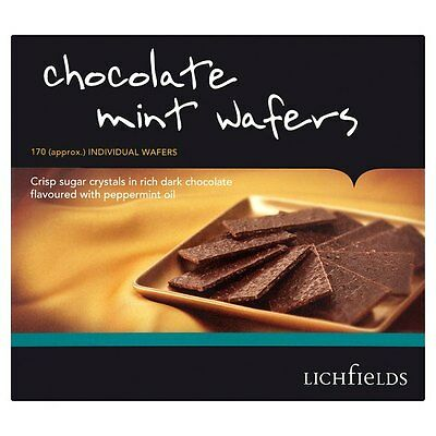 - LICHFIELDS CHOCOLATE MINT WAFERS 1kg CATERING BOX WHOLESALE DISCOUNT 142842