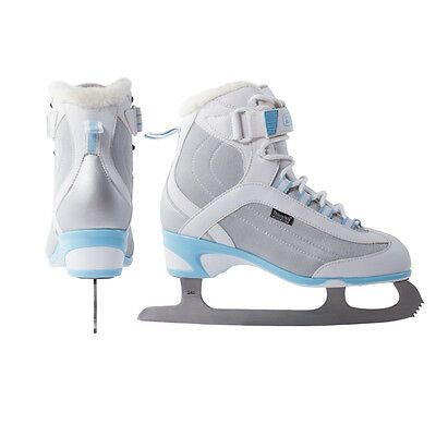 New DR Allure soft boot girl's ice figure skates size sz 4 womens ladies (Ladies Soft Boot Figure Skates)