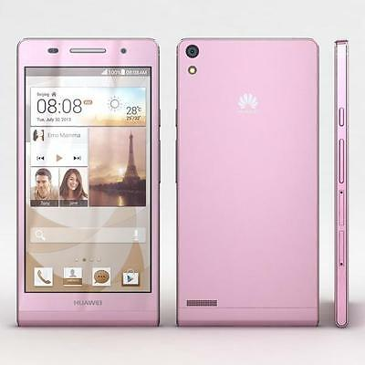 NEW HUAWEI ASCEND P6 U9210 DUMMY DISPLAY PHONE - PINK - UK SELLER