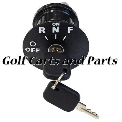 Golf Cart Ignition Key Switch EZGO RXV Electric 08+ Uncommon Key 609692  for sale  Shipping to South Africa