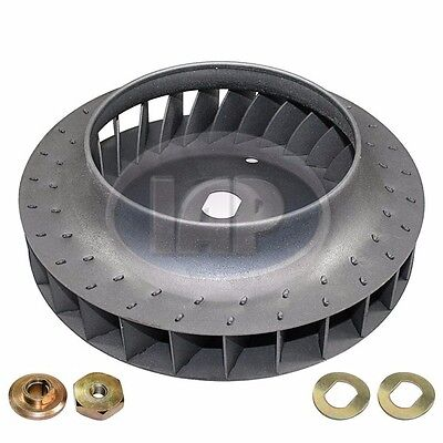VW Bug Bus Ghia 37mm Doghouse Cooling Fan With Hardware AC119230 113119031B