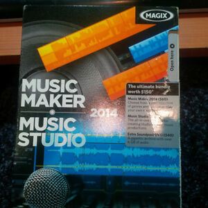 MAGIX Music Maker 2014 Music Studio 2  - NEW IN BOX