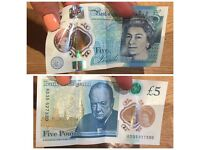 New five pound note AD