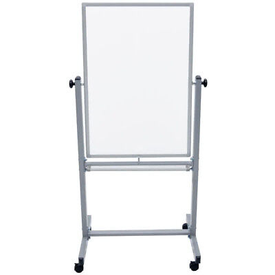 Mobile Presentation Double Sided Dry Erase Whiteboard Marker Board 24 X 36