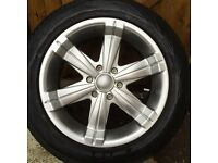 20 inch Alloy wheels and tyres 265/50/20 for Isuzu trooper , shogun ,Mitsubishi
