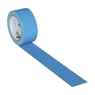 Blue Duct Tape (Electric Blue Duck brand Duct Tape 1.88 inch x 20)