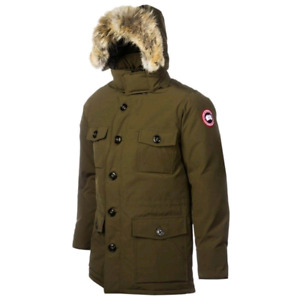 Mens Small Banff Canada Goose Jacket (Olive)