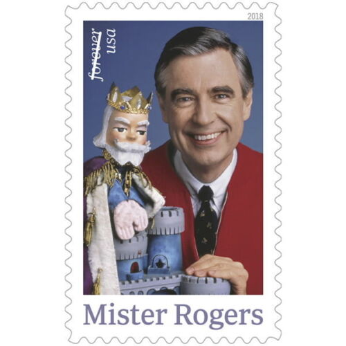 USPS New Mister Rogers Pane of 20
