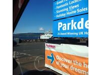 Luxury platinum caravan to let @ Wemyss Bay Holiday Park.