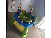 Baby jump and bounce jumperoo