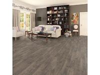 Oxford Oak Grey Brown 8mm Laminate Flooring