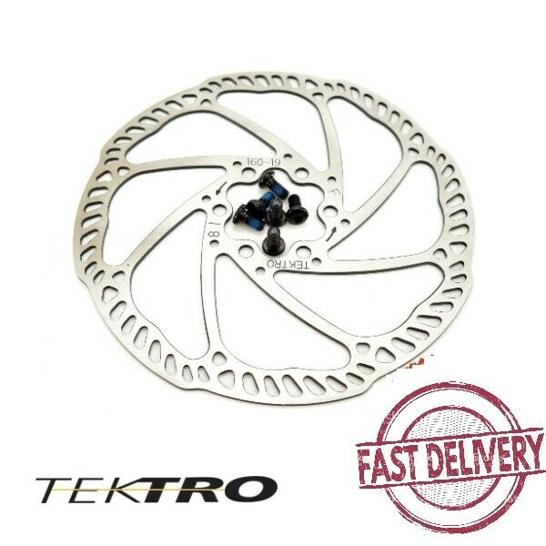 Tektro 160mm/180mm Lightweight airflow Road MTB Bike Rotor High heat dispersion