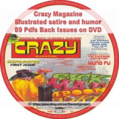 Crazy Magazine 89 pdfs illustrated satire and humor Many Wri
