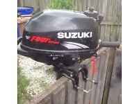 SUZUKI 2.5 HP FOUR STROKE OUTBOARD