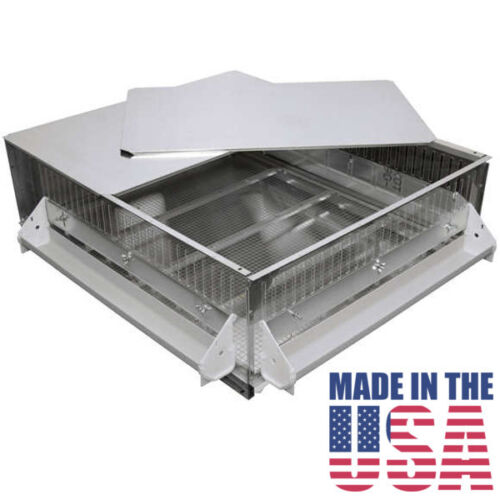 Brooder GQF 0534 Universal Heated Box Brooder Chicks Chickens - Made in the USA!