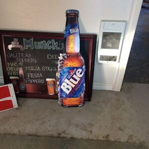 Beer signs for the man cave!! Just in time for Christmas !!  Regina Regina Area image 5