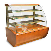 IGLOO JMR4 Curved Glass Refrigerated Pastry Case /Display cooler