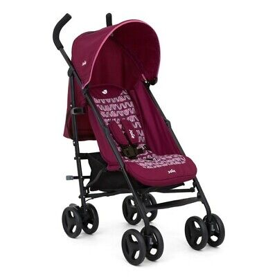 Joie Nitro Pink Stroller Pram Buggy Light Weight Brand New Boxed